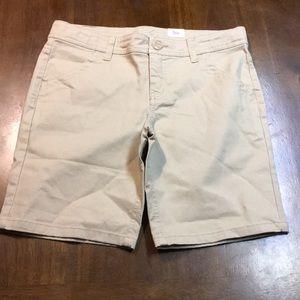 Girl's uniform style shorts